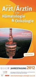 arzt/Ärztin - Haematologie-onkologie-2012.de