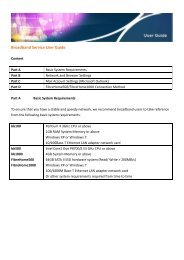 Calix C7 Broadband Internet Services Guide (R5 0) - SCN