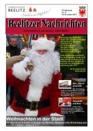 Beelitzer Nachrichten - Dezember 2013