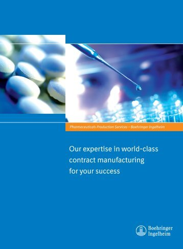Pharmaceuticals Production Services - Boehringer Ingelheim
