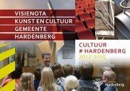 Visie op 'Kunst en Cultuur' - Gemeente Hardenberg