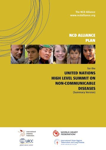 ncd alliance plan - The Healthy Caribbean Coalition