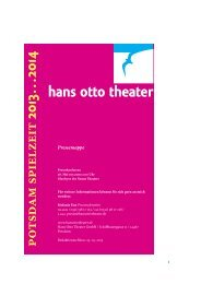 Download PDF ↓ Datei: 139 KB - Hans Otto Theater