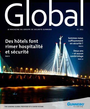 des hôtels font rimer hospitalité et sécurité - Gunnebo