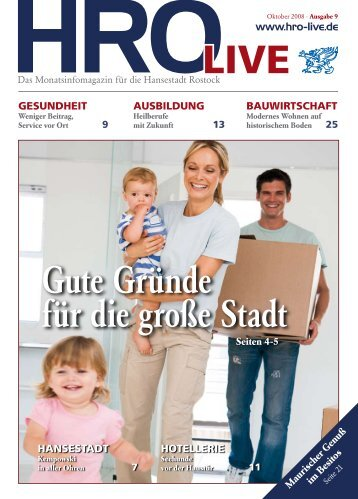 HROLIVE - HRO·LIFE - Das Magazin für die Hansestadt Rostock