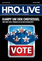 KAMPF UM DEN CHEFSESSEL - HRO·LIFE - Das Magazin für die ...