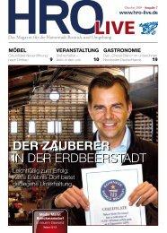 Der Zauberer - HRO·LIFE - Das Magazin für die Hansestadt Rostock