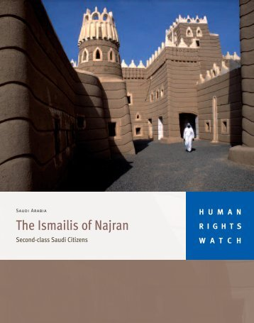 The Ismailis of Najran - Human Rights Watch