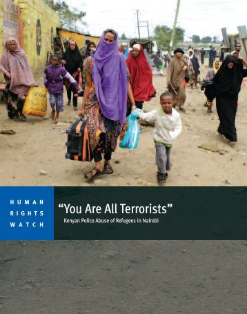 You Are All Terrorists - Human Rights Watch