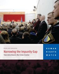 Narrowing the Impunity Gap - Human Rights Watch
