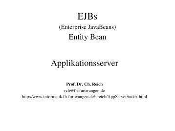 Entity-Bean
