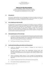 Bachelor Studiengang Wirtschaftsinformatik (2009) - Hochschule ...