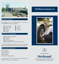 KFZ-Mechatroniker - Mercedes-Benz Herbrand GmbH