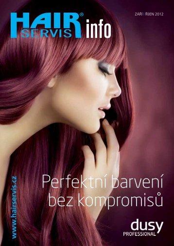 Perfektní barvení bez kompromisů - Hair servis