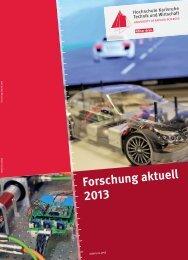 Download des aktuellen Forschungsberichts - Hochschule ...