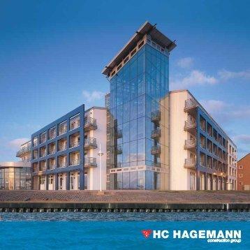 HC HAGEMANN construction group Broschüre Hochbau