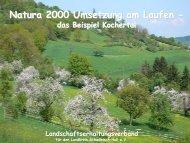Natura 2000 Umsetzung am Laufen – das Beispiel Kochertal