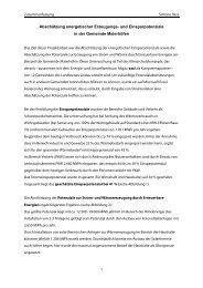 Abschätzung energetischer Erzeugungs- und Einsparpotenziale in ...