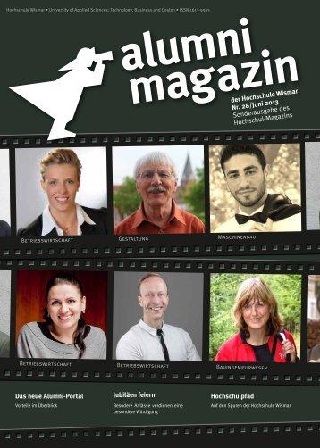Alumni-Magazin 06/ 2013 - Hochschule Wismar