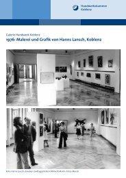 1976: Malerei und Grafik von Hanns Lansch, Koblenz - Galerie ...