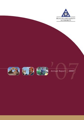 annual report 2007.pdf - Health and Safety Authority