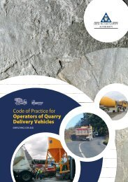 Cop for the Operators of Quarry Delivery Vehicles - Health and ...