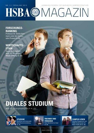 DUALES STUDIUM - HSBA Hamburg School of Business ...