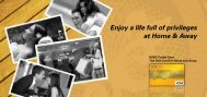 Enjoy a life full of privileges at Home & Away - HSBC Sri Lanka