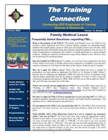 Vol.13 No.2 February 2009 - New Mexico Human Services ...