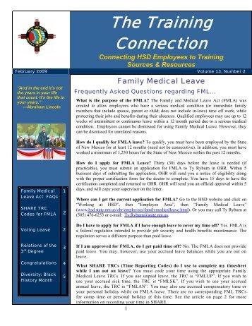 Vol.13 No.2 February 2009 - New Mexico Human Services ...