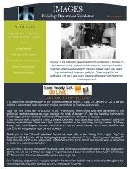 Radiology Department Newsletter - UF Health Science Center ...