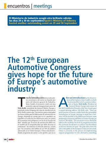 AutoRevista - nº 2259-2260 - Ecm European Conference Management