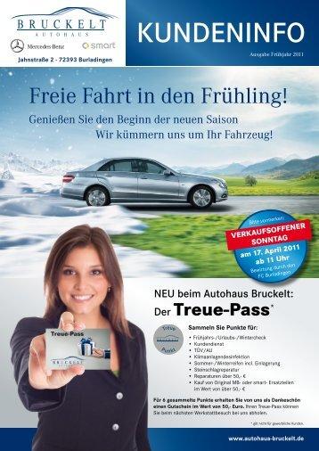 Treue-Pass - Autohaus Bruckelt Gmbh