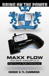 Maxx Flow Instructions - H&S Performance