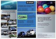 Original-smart-Sommerreifen. >>sichere ... - Autohaus Bruckelt Gmbh