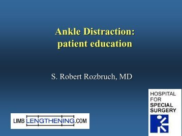 Ankle Distraction