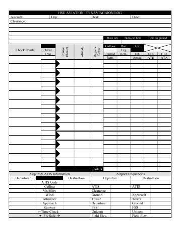 PDF NAVIGATION JEPPESEN LOG IFR