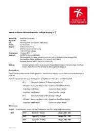 Ausschreibung - Hessischer Turnverband