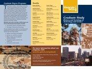 Download the HTS Graduate Brochure - School of History ...