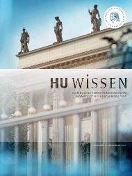 hu wissen 3 (pdf) - Humboldt-Universität zu Berlin