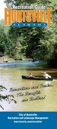 Recreation Guide - City of Huntsville