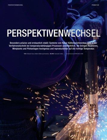 PERSPEKTIVENWECHSEL - HUBER
