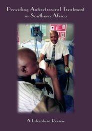 Providing Antiretroviral - Health Systems Trust