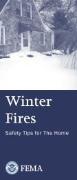 Winter Fires: Safety Tips for the Home
