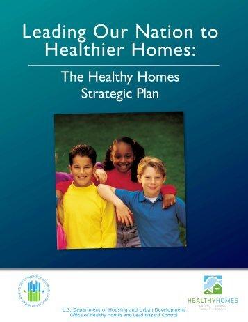 Healthy Homes Strategic Plan - HUD