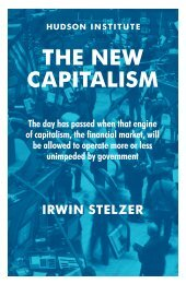 The New Capitalism - Hudson Institute