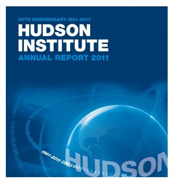 Annual report 2011 - Hudson Institute
