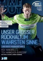 TSV Hannover-Burgdorf - HSV Handball