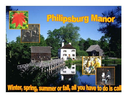 Slavery at Philipsburg Manor - The Hudson River Valley Institute