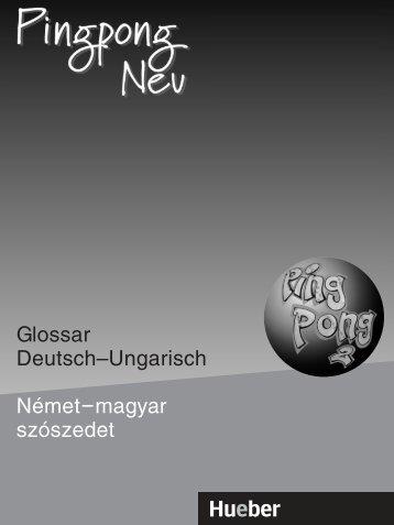 Glossar Deutsch–Ungarisch